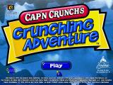 Cap'n Crunch's Crunchling Adventure Windows Splash screen