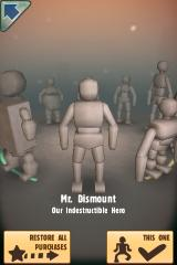 Stair Dismount iPhone Choosing your character model