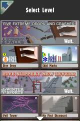 Stair Dismount iPhone Level selection