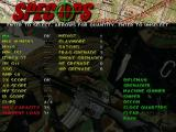 Spec Ops: Rangers Lead the Way Windows Loadout screen