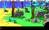 King's Quest III: To Heir is Human DOS Rougher country. (EGA/Tandy)