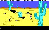 King's Quest III: To Heir is Human DOS The desert. (EGA / TANDY)