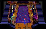 The Colonel's Bequest DOS Downstairs hallway (EGA / TANDY)