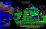 The Colonel's Bequest DOS Near the swamp (EGA / TANDY)