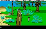King's Quest III: To Heir is Human Atari ST Countryside.