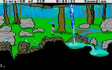 King's Quest III: To Heir is Human Atari ST Pretty scenery.