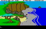 King's Quest III: To Heir is Human Atari ST Beach.