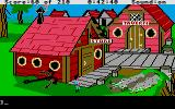 King's Quest III: To Heir is Human Atari ST Town.