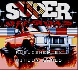 Ivan 'Ironman' Stewart's Super Off Road Game Gear Title Screen