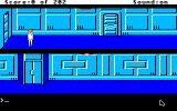 Space Quest: Chapter I - The Sarien Encounter Apple IIgs Start of the game.