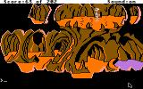 Space Quest: Chapter I - The Sarien Encounter Apple IIgs Underground cave.