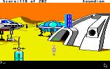 Space Quest: Chapter I - The Sarien Encounter Apple IIgs Ulence Flats.