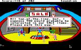 Space Quest: Chapter I - The Sarien Encounter Apple IIgs Inside the droid shop.