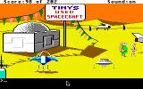 Space Quest: Chapter I - The Sarien Encounter Apple IIgs Tiny's Used Spacecraft.
