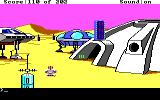 Space Quest: Chapter I - The Sarien Encounter DOS Ulence Flats. (EGA/Tandy)