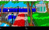 Gold Rush! Apple IIgs Starting the game in Brooklyn, New York.