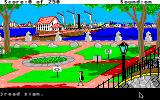 Gold Rush! Apple IIgs City park.