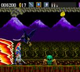 Samurai-Ghost TurboGrafx-16 Attacked from above, attacked from the ground, chased by lava - just not my day.