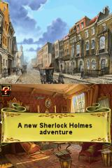 Sherlock Holmes DS and the Mystery of Osborne House Nintendo DS I know, I know! Who say that it's an old adventure?