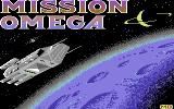 Mission Omega Commodore 64 Loading screen