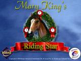 Mary King's Riding Star Windows The game's title screen. This appears after three game publisher screens.