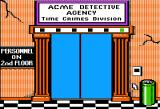 Where in Time is Carmen Sandiego? Apple II Welcome to the Acme Detective Agency - Time Crimes Division.