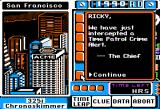 Where in Time is Carmen Sandiego? Apple II 1990 is the present time? That was over 20 years ago! :-)