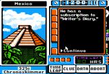 Where in Time is Carmen Sandiego? Apple II A clue.