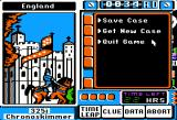 Where in Time is Carmen Sandiego? Apple II Game options.