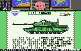 Steel Thunder Commodore 64 Read descriptions of the different tanks.