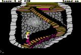 King's Quest IV: The Perils of Rosella Apple II Up the stairs.