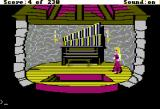 King's Quest IV: The Perils of Rosella Apple II Organ room.