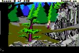 King's Quest IV: The Perils of Rosella Apple II Near the mountain.