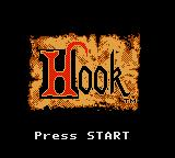 Hook Game Gear Title Screen