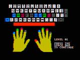 Wizard of Id's WizType DOS Ready for some practice? (CGA with composite monitor)