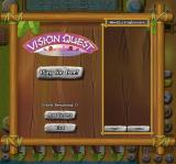 My Tribe Browser Starting the mini-game, Vision Quest.