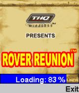 Rover Reunion J2ME Loading screen