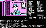 Borrowed Time PC Booter In the police station.