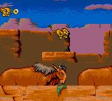 The Lion King Game Gear Running with the bulls