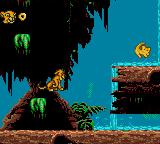 "The Lion King Game Gear ""Waterfall"" visible"