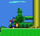 The Lucky Dime Caper starring Donald Duck Game Gear Flying Mallet Smash