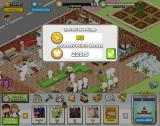 Restaurant City Browser When you've been away from your main restaurant screen, the game tells you how many coins and Gourmet Points you've earned