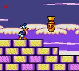 The Lucky Dime Caper starring Donald Duck Game Gear Jumping Egyptian thing