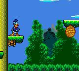 The Lucky Dime Caper starring Donald Duck Game Gear Spiders and bees