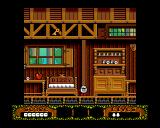 The Fantastic Adventures of Dizzy Amiga Start of the game in Dizzy's home. (AGA)