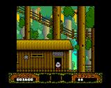 The Fantastic Adventures of Dizzy Amiga Outside Dizzy's home. (AGA)
