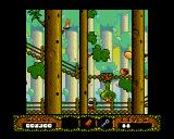 The Fantastic Adventures of Dizzy Amiga Watch out for man (egg?) eating plant! (AGA)