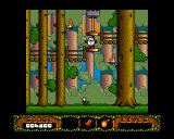 The Fantastic Adventures of Dizzy Amiga Going up a lift. (AGA)