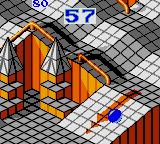 Marble Madness Game Gear ...and another ramp