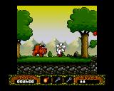 The Fantastic Adventures of Dizzy Amiga Ah! Big hairy ugly thing! It's time to get the flaming hey out of here! (AGA)